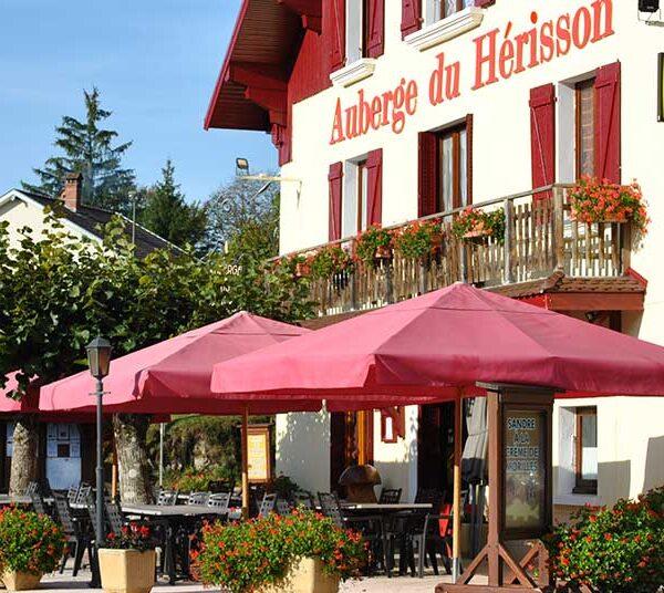 Auberge du Hérisson Cascades du Hérisson Jura